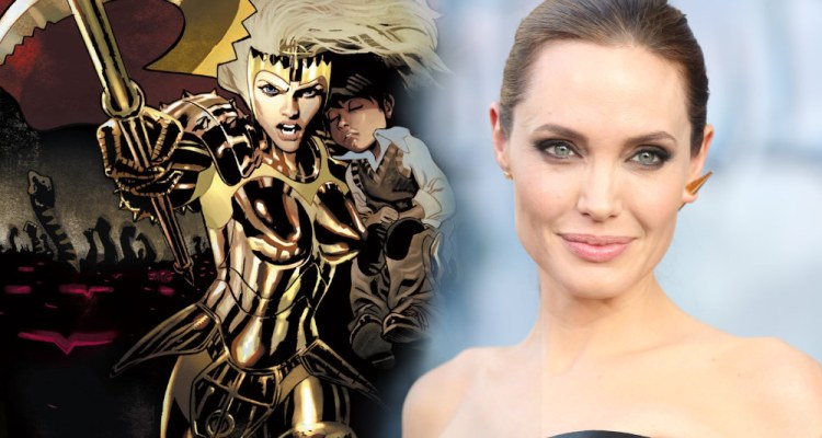 Marvel Studios na SDCC 2019 - Angelina Jolie - Thena - Eternos - Eternals - Blog Farofeiros