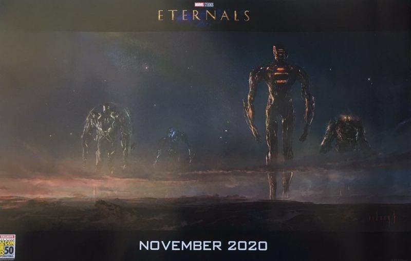 Marvel Studios na SDCC 2019 - Celestiais - Eternos - Eternals - Blog Farofeiros