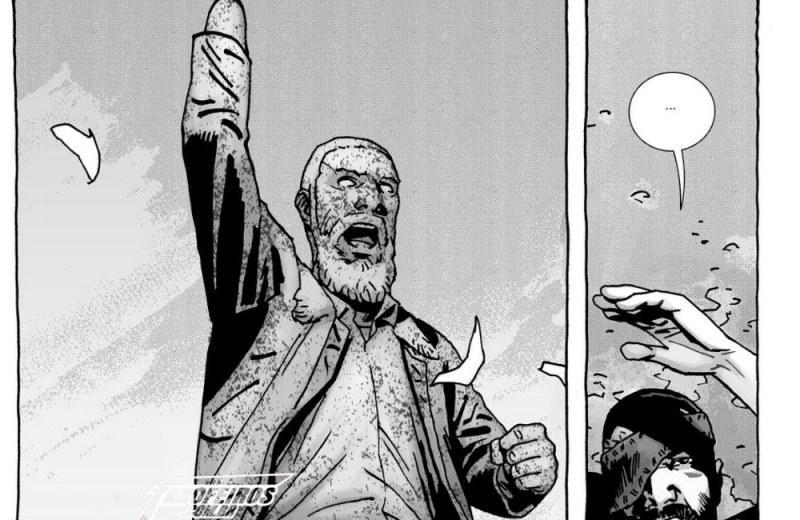 O fim de The Walking Dead - Blog Farofeiros - Estátua Rick Grimes