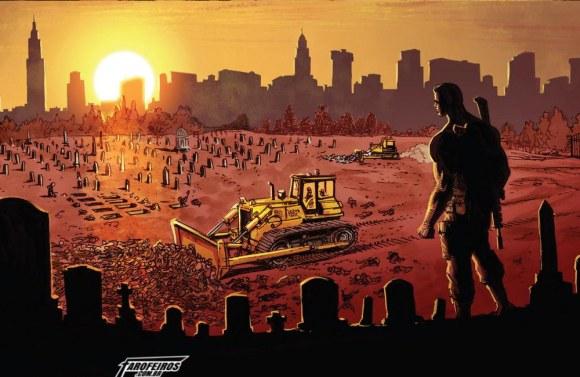 O final de Guerra dos Reinos - Justiceiro - Cemitério - Blog Farofeiros