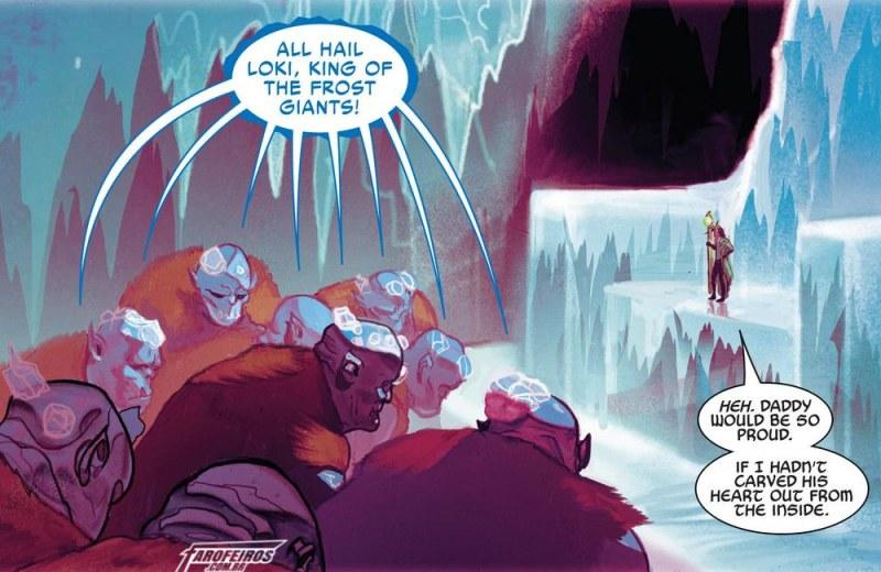 O final de Guerra dos Reinos - Loki rei dos gigantes de gelo - Blog Farofeiros