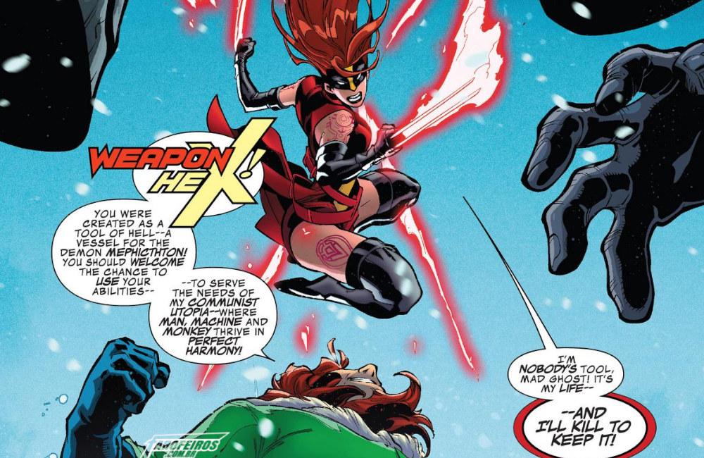 Outra Semana nos Quadrinhos #21 - Secret Warps - Weapon Hex Annual #1 - Blog Farofeiros