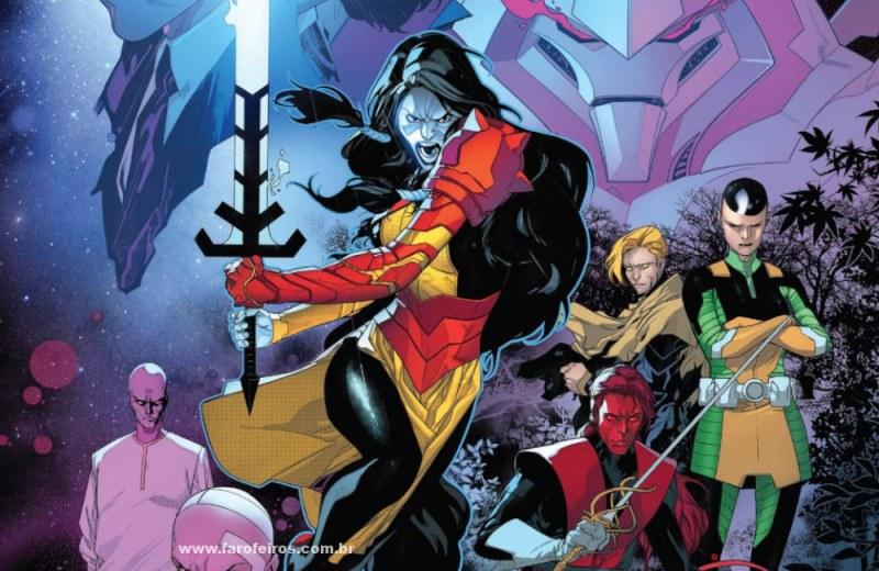 Detalhes de Powers of X - Poderes dos X - Capa - Blog Farofeiros