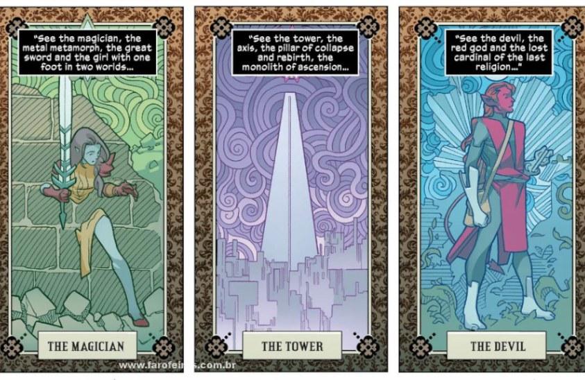 Detalhes de Powers of X - Poderes dos X - Powers of X #1 - A Mágica - A Torre - O Demônio - Blog Farofeiros