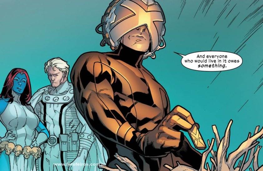 Detalhes de Powers of X - Poderes dos X - Powers of X #1 - Mística - Magneto - Professor X - Blog Farofeiros