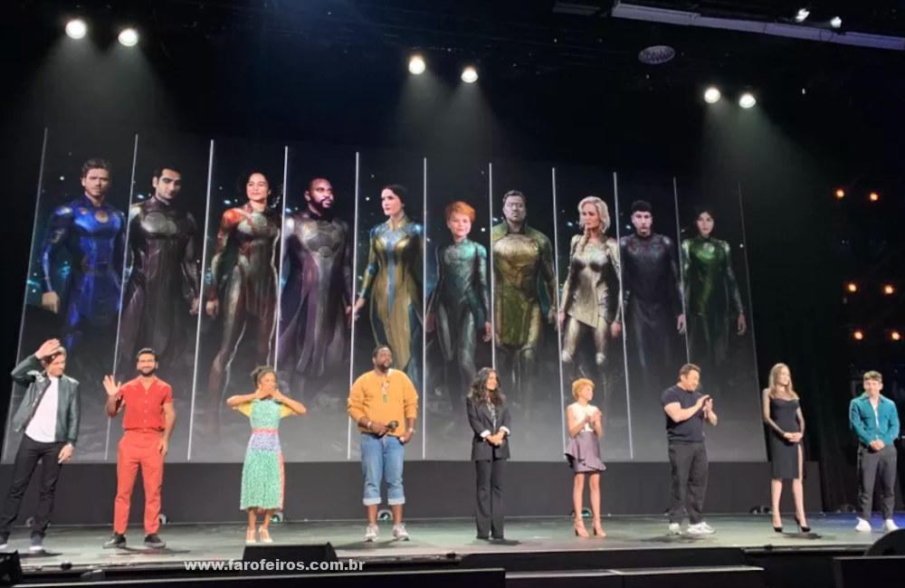 Elenco de Eternos - Novidades dos filmes da Marvel Studios na D23 Expo 2019 - Blog Farofeiros