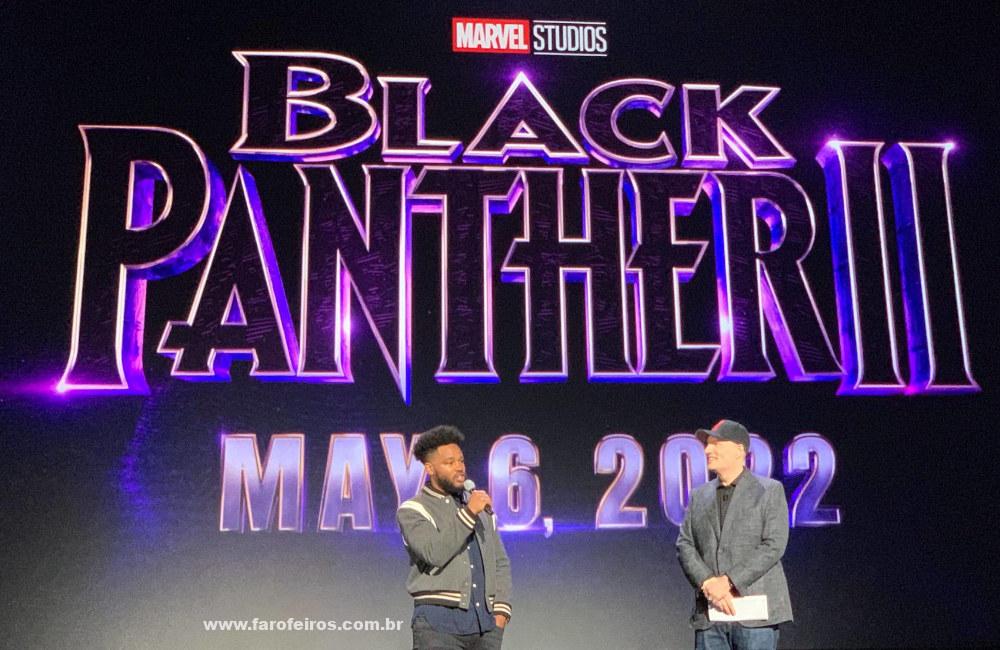 Pantera Negra II - Novidades dos filmes da Marvel Studios na D23 Expo 2019 - Blog Farofeiros