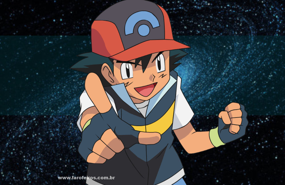 Este artigo não vai te transformar em um Mestre Pokemon - Ash Ketchum - Blog Farofeiros