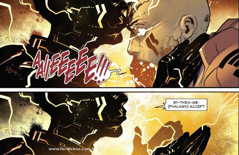 Falange - Assimilação - Detalhes de Powers of X - Poderes dos X - X-Men - Marvel Comics - Blog Farofeiros