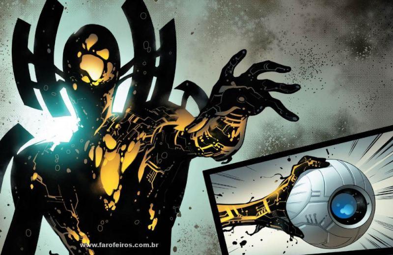 Falange - Comunicação - Detalhes de Powers of X - Poderes dos X - X-Men - Marvel Comics - Blog Farofeiros