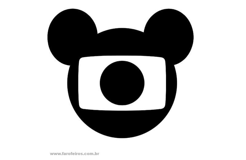 Globo comprou a Disney - Logo - Blog Farofeiros