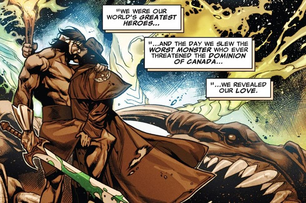 Hércules e Wolverine Marvel Comics - Beijo gay nas histórias em quadrinhos - Blog Farofeiros