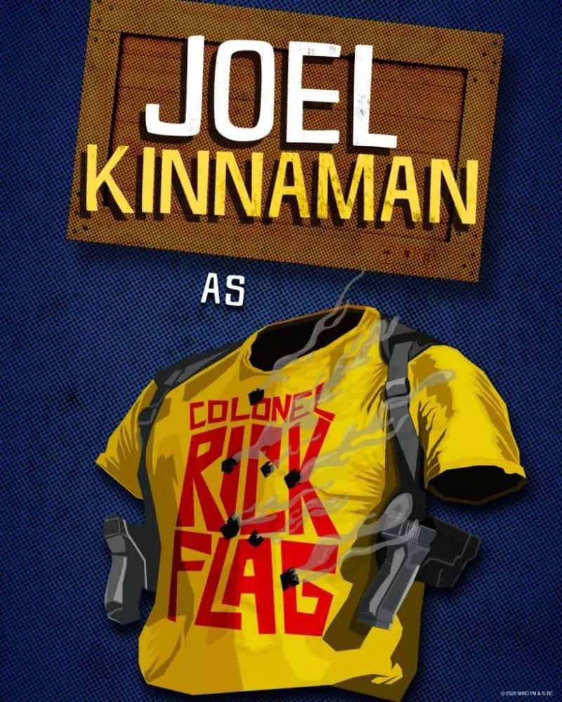 Joel Kinnaman - Coronel Rick Flag - O Esquadrão Suicida - James Gunn - Blog Farofeiros