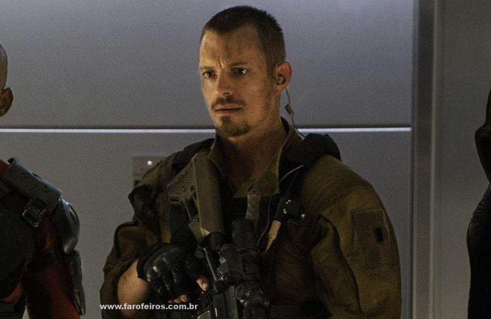 Joel Kinnaman - Rick Flagg - Quem é quem no elenco de Esquadrão Suicida 2 - James Gunn - Blog Farofeiros