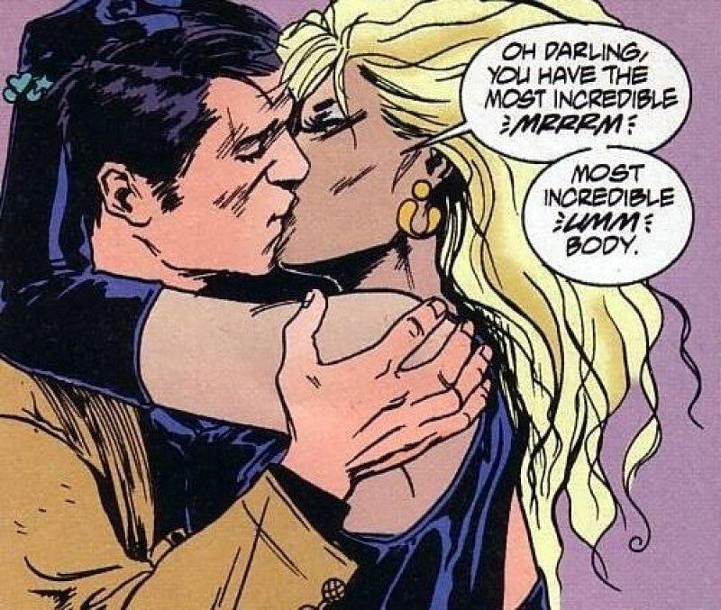 Lord Fanny - Os Invisiveis - Vertigo - DC Comics - Beijo gay nas histórias em quadrinhos - Blog Farofeiros