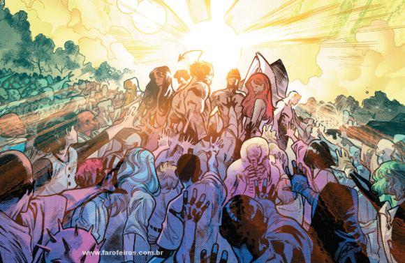 Mutantes ressucitados - Krakoa - X-Men - Deu tudo certo em House of X #5 - Marvel Comics - Blog Farofeiros