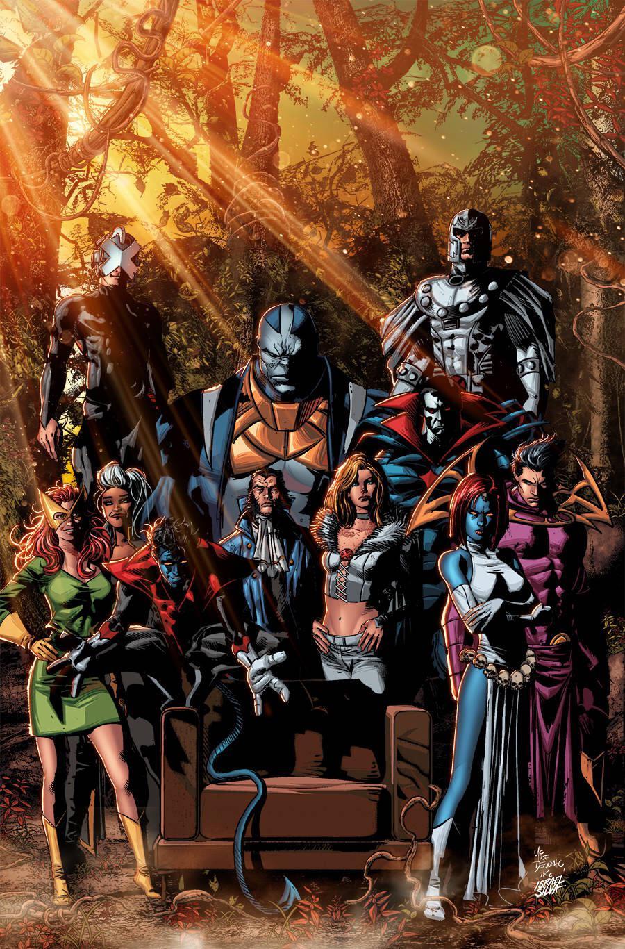 Os Doze - Mike Deodato Jr - X-Men - O Conselho de Krakoa de Powers of X #5 - Blog Farofeiros