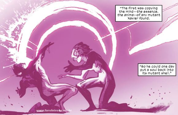 Professor X - Cérebro - X-Men - Deu tudo certo em House of X #5 - Marvel Comics - Blog Farofeiros