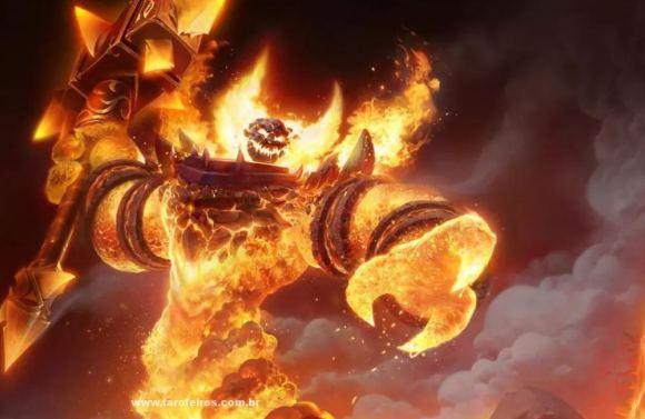 Ragnaros - World Of Warcraft Classic aumentou o número de assinantes do jogo - Blizzard - WoW Classic - Blog Farofeiros