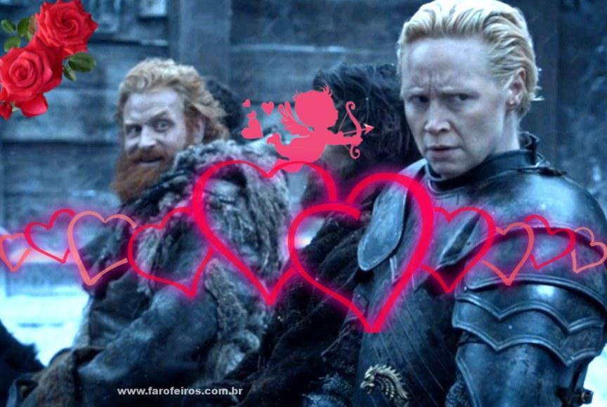 Se controla Tormund - Brienne - Game of Thrones - Blog Farofeiros