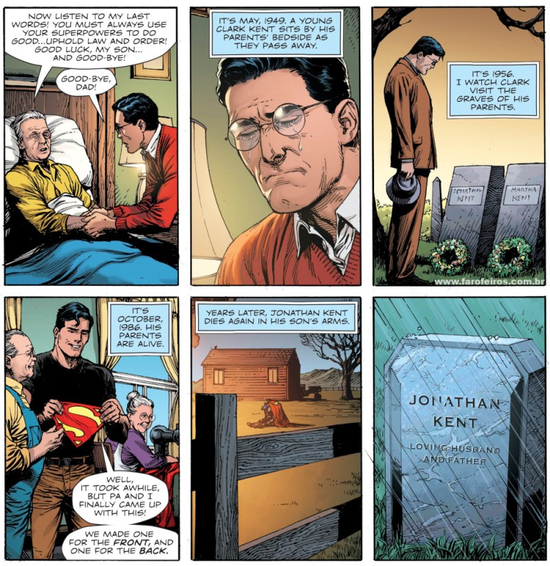 Superman - Clark Kent - Rleógio do Juízo Final - Novos 52 foi culpa do Dr Manhathan - Doomsday Clock - Blog Farofeiros