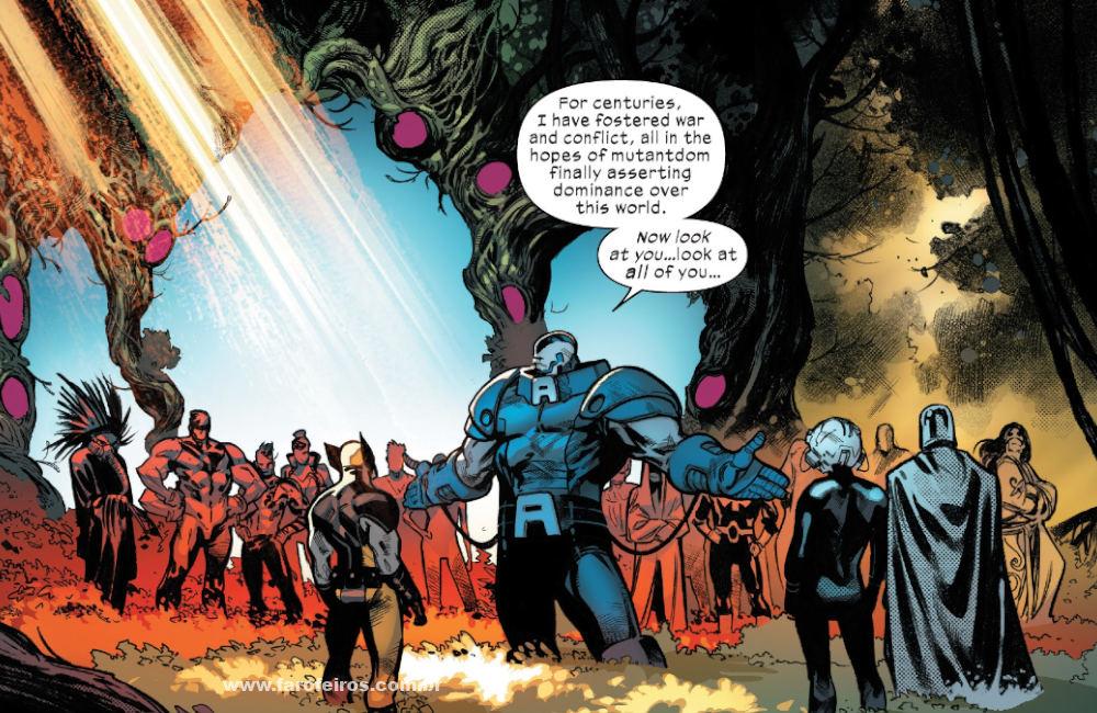 Vilões em Krakoa - X-Men - Deu tudo certo em House of X #5 - Marvel Comics - Blog Farofeiros