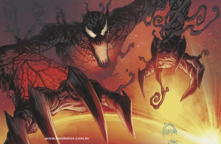 Carnificina - 2 - Os simbiontes da Marvel Comics - Blog Farofeiros
