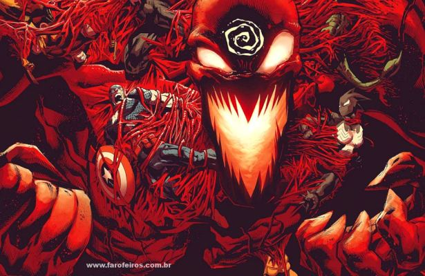 Carnificina Absoluta - Os simbiontes da Marvel Comics - Blog Farofeiros