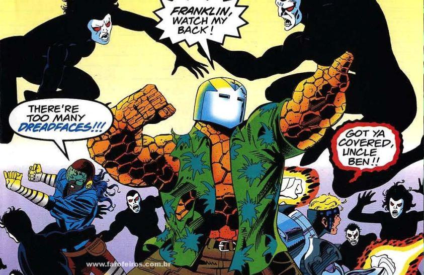 Dreadface - Os simbiontes da Marvel Comics - Blog Farofeiros
