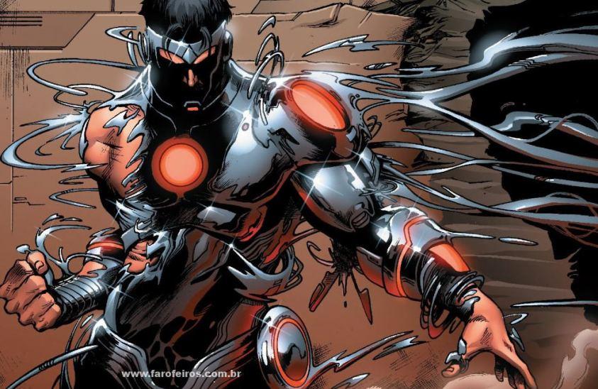 Homem de Ferro Superior - Armadura - Os simbiontes da Marvel Comics - Blog Farofeiros