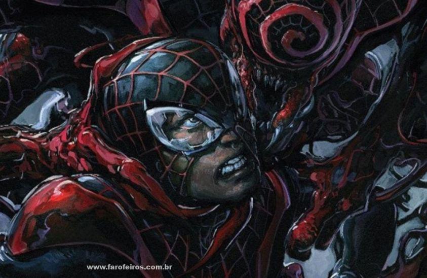 Miles Morales - Homem Aranha - Os simbiontes da Marvel Comics - Blog Farofeiros