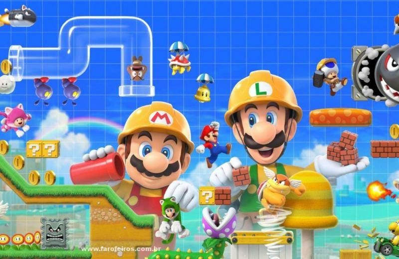 O problema é o dinheiro - Super Mario - Construindo - Super Mario Maker - Blog Farofeiros