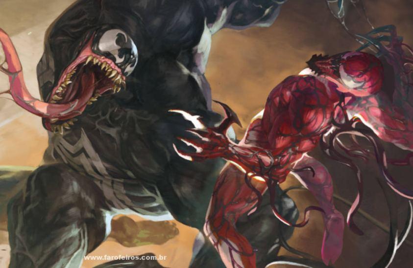 Venom vs Carnificina - Os simbiontes da Marvel Comics - Blog Farofeiros