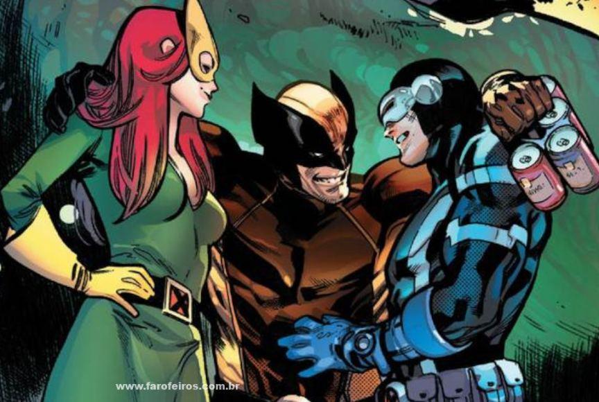 X-Men - O triângulo amoroso mutante de Wolverine, Ciclope e Garota Marvel - Blog Farofeiros