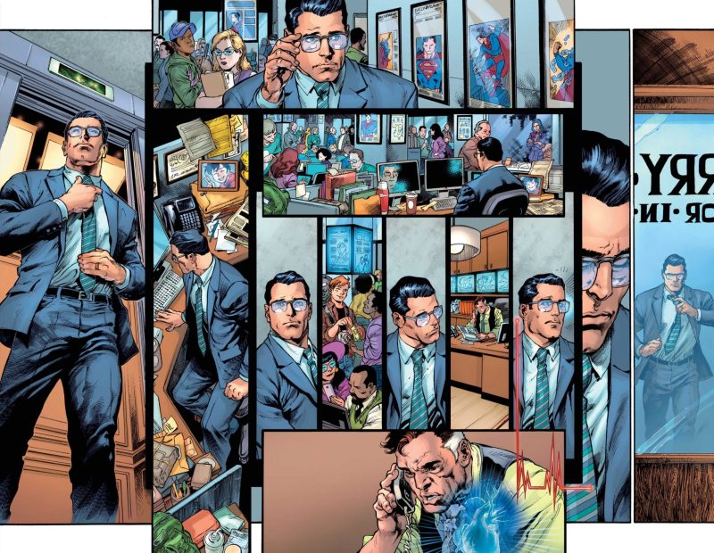 Clark Kent é o Superman - Preview Superman #18 - 2 - Blog Farofeiros