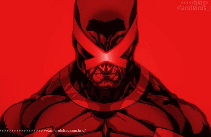 Heróis mascarados - 2 - Ciclope nervoso vermelho - Blog Farofeiros