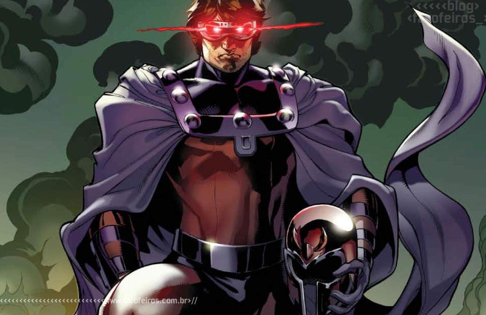 Heróis mascarados - 3 - Ciclope Magneto - Blog Farofeiros