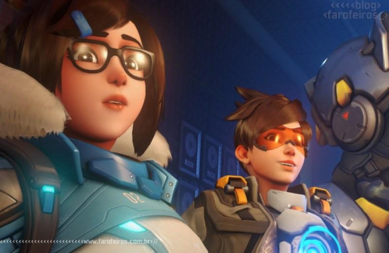 Mei - Tracer - Overwatch 2 - Blizzcon 2019 - Blog Farofeiros