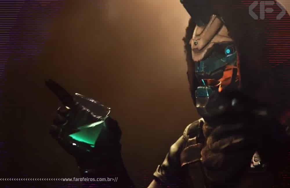 Ultra Farofeiros Videogame Awards 2019 Special Edition - Cayde 6 - Destiny 2 - Bebendo - Blog Farofeiros