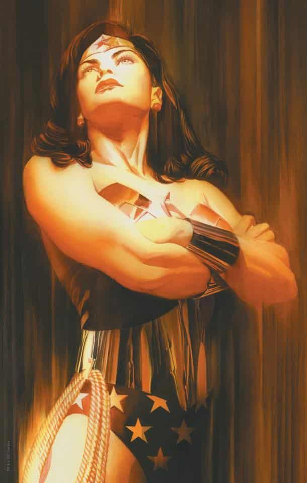 A arte de Alex Ross - Mulher Maravilha - Blog Farofeiros
