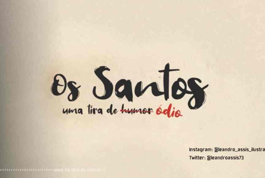 Os Santos - Leandro Assis - Capa - Blog Farofeiros