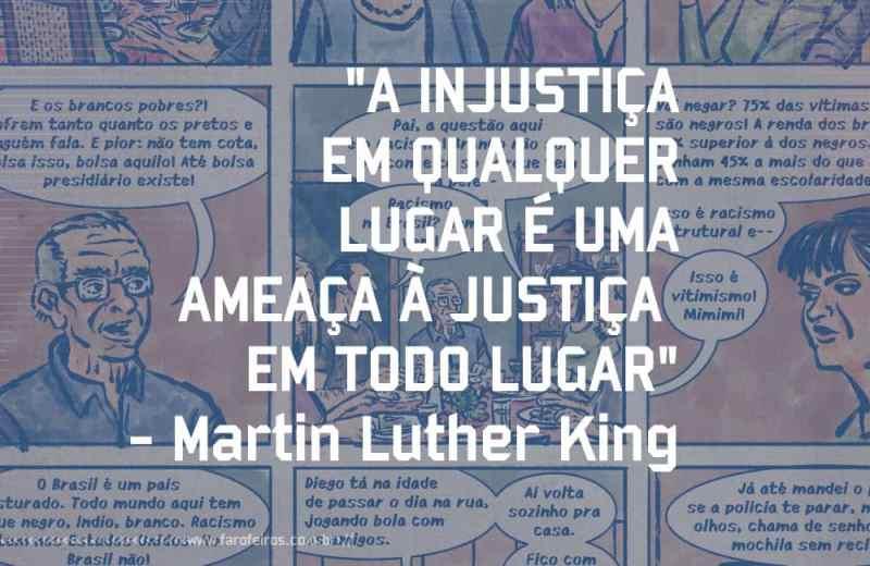 Os Santos - Leandro Assis - Martin Luter King - Pensamento - Blog Farofeiros