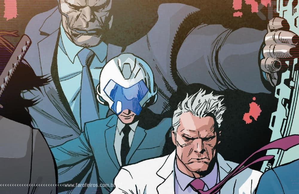 Política com Magneto em X-Men #4 - Apocalipse - Professor X - X-Men #4 - Blog Farofeiros