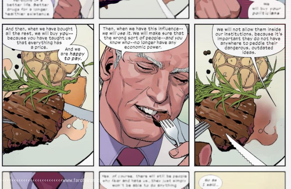 Política com Magneto em X-Men #4 - X-Men #4 - A lição - Blog Farofeiros