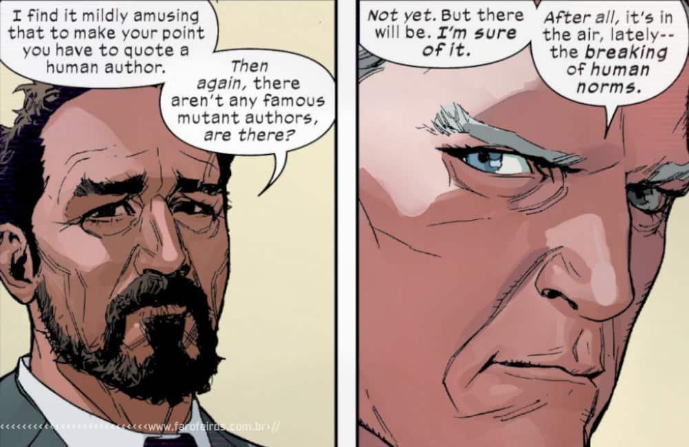 Política com Magneto em X-Men #4 - X-Men #4 - Acadêmico brasileiro na OMC - Blog Farofeiros