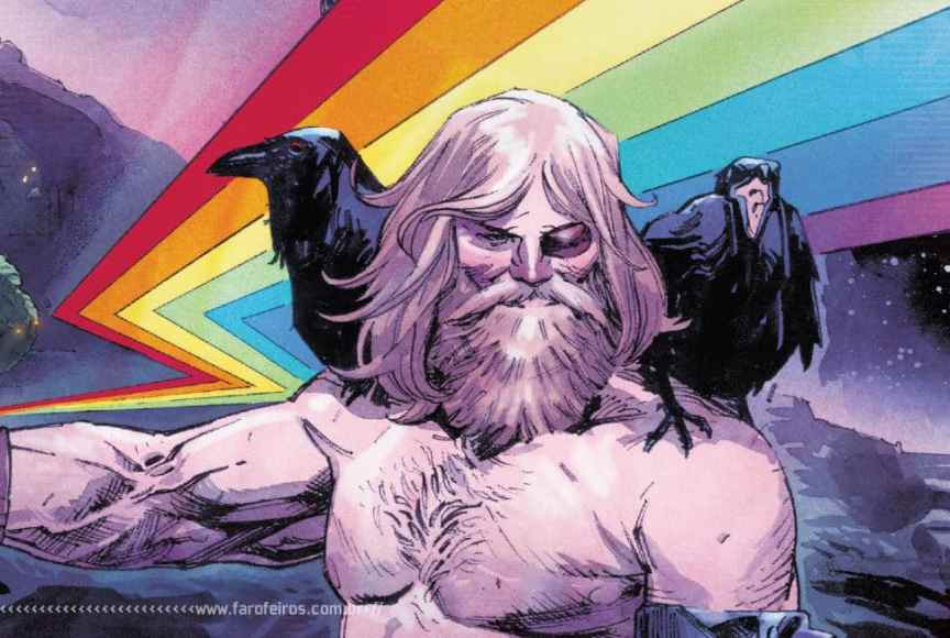 Thor de Donny Cates - Modelo 2019 - Blog Farofeiros