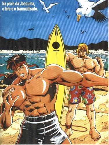 Street Fighter no Brasil - Ryu - Ken - Blog Farofeiros