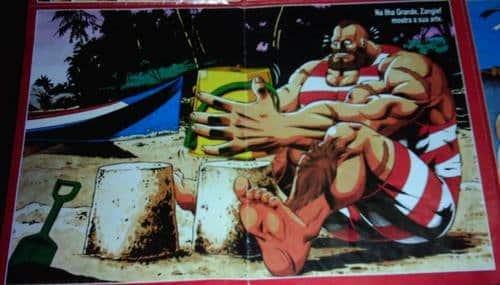 Street Fighter no Brasil - Zangief - Blog Farofeiros
