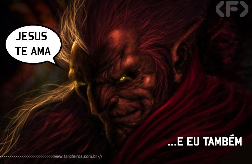 Jesus te ama - Mephisto - Marvel Comics - Blog Farofeiros