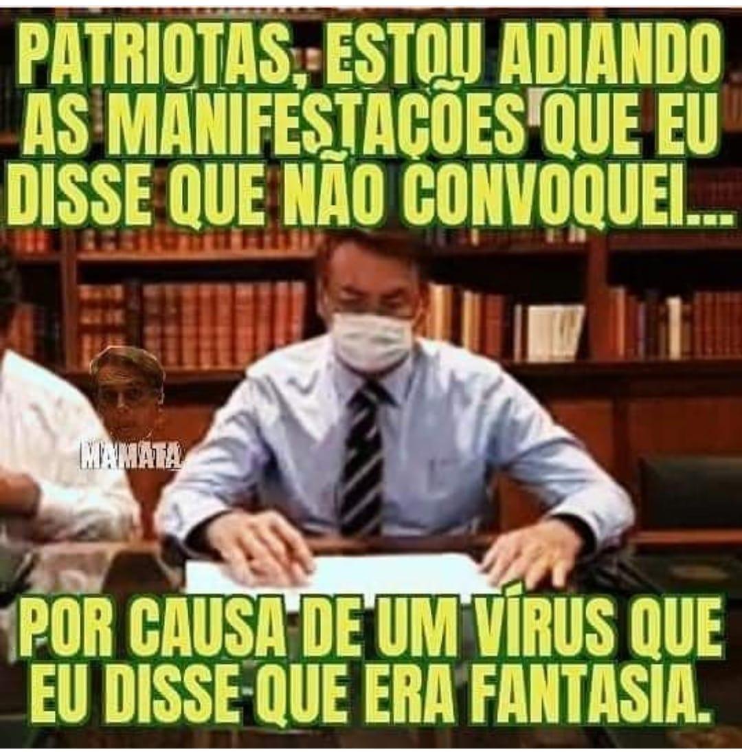 Memes para usar durante a quarentena - Blog Farofeiros - Patriota